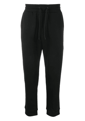 Emporio Armani slim-fit track trousers - Black