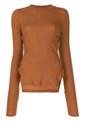 Rejina Pyo Candice fitted top - Brown