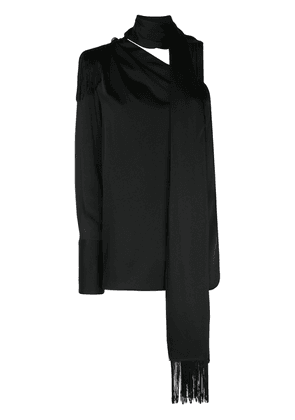 Monse Regalia Scarf blouse - Black