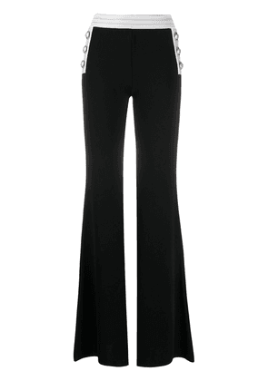 Balmain flared trousers - Black