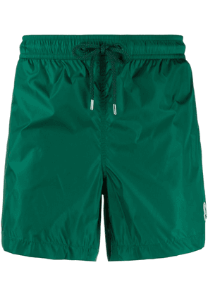 Moncler logo swim shorts - Green