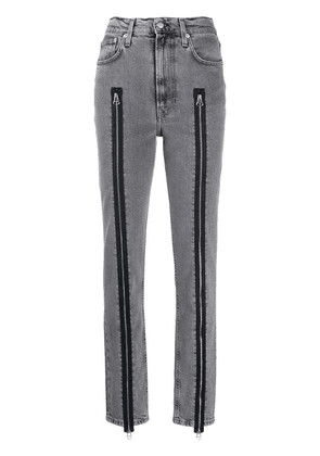 Helmut Lang zip detail jeans - Grey