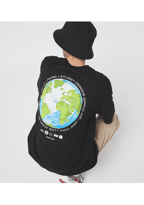 Stussy Global Design T-shirt, black