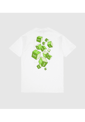 HUF 3D Block T-Shirt, white