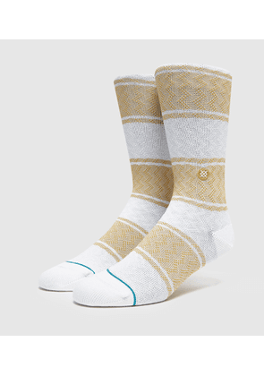 Stance Serape Socks, white