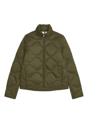 Quilted Down Liner Jacket - Green