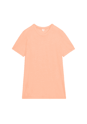 Ice Crepe T-Shirt - Orange
