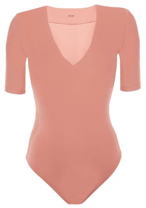 Alix Nyc Ludlow Stretch-jersey Bodysuit Woman Antique rose Size M