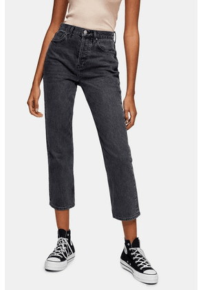 Womens **Washed Black Skinny Jeans By Topshop Boutique - Washed Black, Washed Black