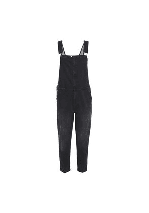 Current/elliott The Ranch Hand Denim Overalls Woman Charcoal Size 1