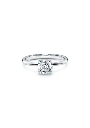 Tiffany True engagement ring in platinum: an icon of modern love