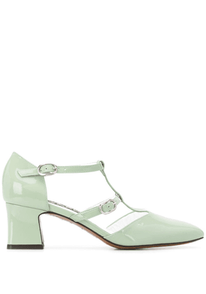 Carel Axelle 55mm square toe pumps - Green