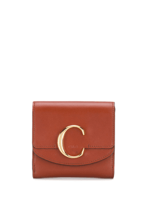 Chloé Chloé 'C' wallet - Brown