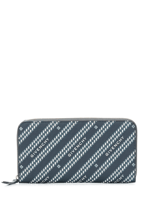 Givenchy Bond zip purse - Blue