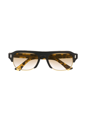 Cutler & Gross 1353-04 square-frame sunglasses - Yellow