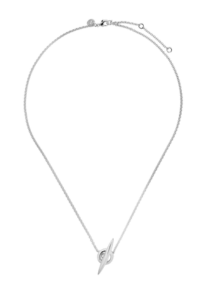 Shaun Leane Arc T-Bar necklace - STERLING SILVER