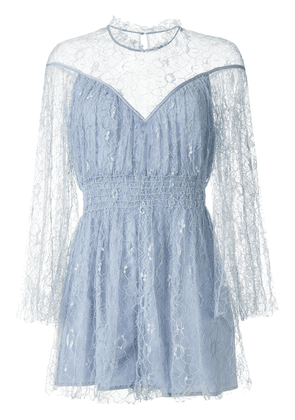 Alice McCall Magicians Daughter embroidered playsuit - Blue