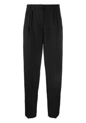 Acne Studios micro-pleated tailored trousers - Black
