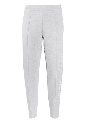 Calvin Klein Jeans cropped track pants - Grey