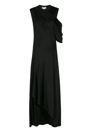 Monse Asymmetrical Jersey gown - Black