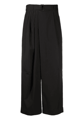 Christian Wijnants Pili cropped trousers - Black