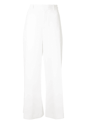 Roland Mouret Liberty wide-leg trousers - White