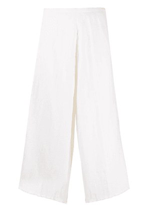 Forte Forte wide-leg cropped trousers - White