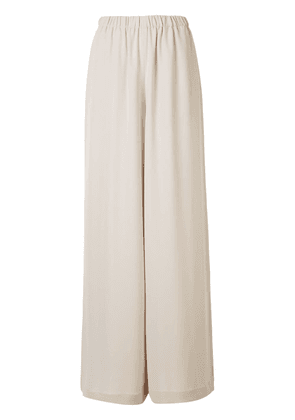 Atm Anthony Thomas Melillo high-waisted wide-leg trousers - NEUTRALS