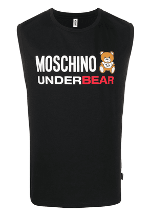 Moschino Underbear tank top - Black