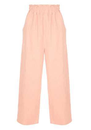 AUGUSTE Peggy cropped trousers - PINK