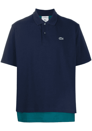 Lacoste layered polo shirt - Blue