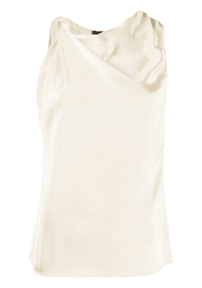 Theory draped top - NEUTRALS
