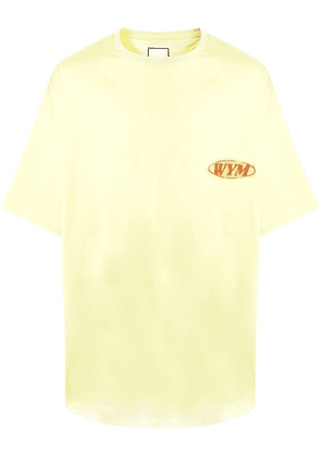 Wooyoungmi Paradise graphic-print T-shirt - Yellow