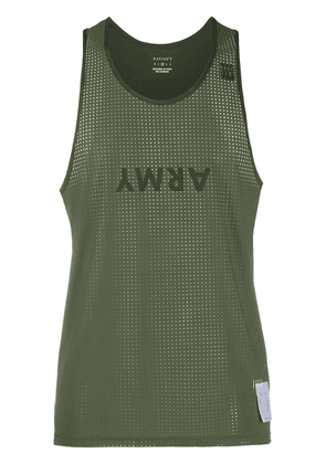 Satisfy Army tank top - Green