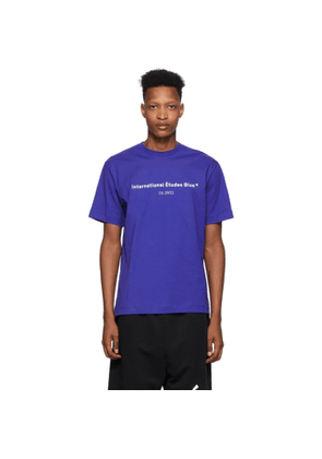Etudes Blue Wonder International T-Shirt