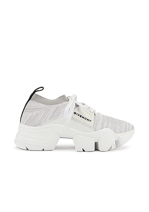 Givenchy Jaw Low Sock Sneakers in White - White. Size 36 (also in 37.5,38,38.5,39,39.5,40,41).