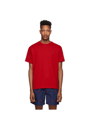 Polo Ralph Lauren Red Crewneck T-Shirt
