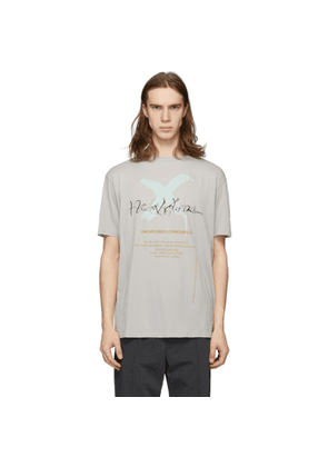 Haider Ackermann Grey Unfortunate Coincidence T-Shirt