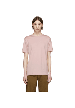 Sunspel Pink Pima Cotton Classic T-Shirt