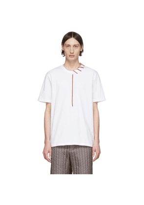 Craig Green SSENSE Exclusive White Laced T-Shirt