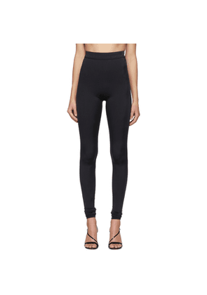 Balmain Black High-Waisted Leggings