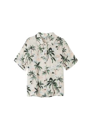 Ashley Silk Shirt - Palm Springs