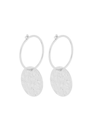 New Moon Earrings - Silver