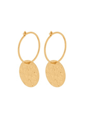 New Moon Earrings - Gold