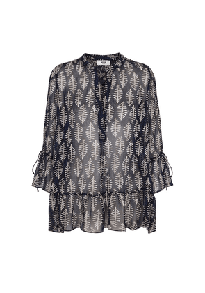 Ami Blouse - Night Blue