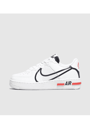 Nike Air Force 1 React Women's, WHT/BLK-RED/WHT/BLK-RED