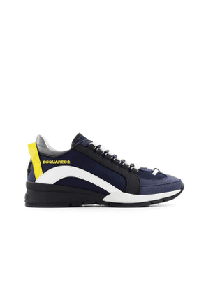 DSQUARED2 BLUE WHITE YELLOW 551 SNEAKER