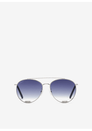 Bally Highpoint Aviator Sunglasses