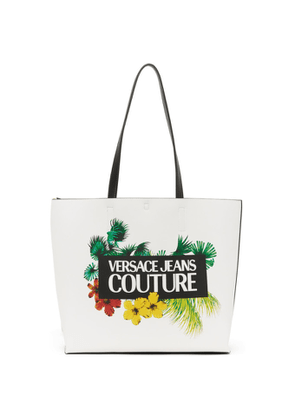 Versace Jeans Couture Reversible White Tropical Tote