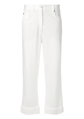 Brunello Cucinelli loose fit straight trousers - NEUTRALS